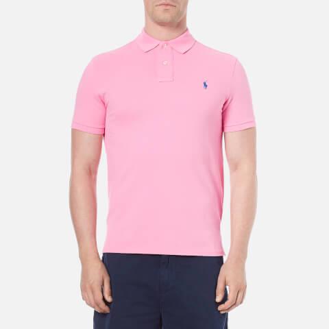 Polo Ralph Lauren Men's Custom Fit Polo Shirt - Heritage Pink