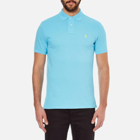 Polo Ralph Lauren Men's Custom Fit Polo Shirt - French Turquoise
