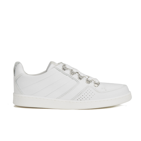KENZO Women's K-Fly Low Top Trainers - White