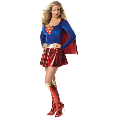 DC Comics Women's Supergirl Fancy Dress