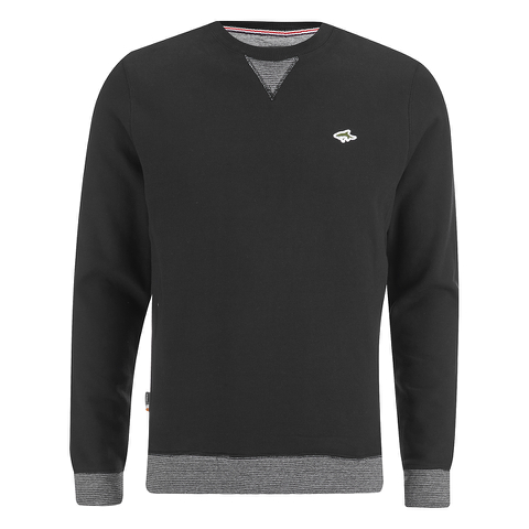Le Shark Men's Greenfield Crew Neck Sweatshirt - Black