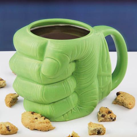 Hulk Shaped Mug - Green