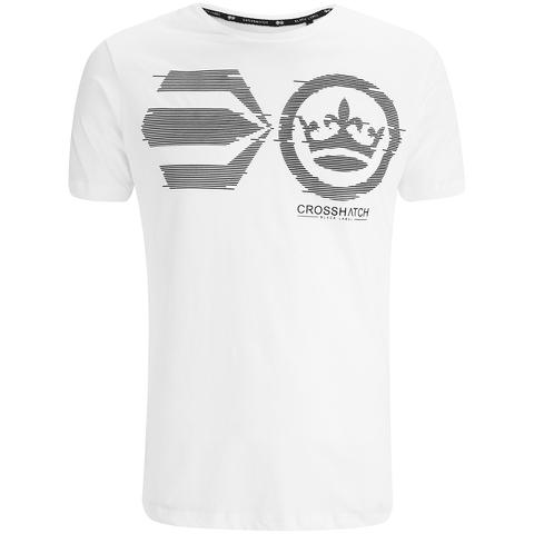 Crosshatch Men's Onsite Graphic T-Shirt - White