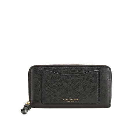 Marc Jacobs Women's Recruit Continental Wallet - Black