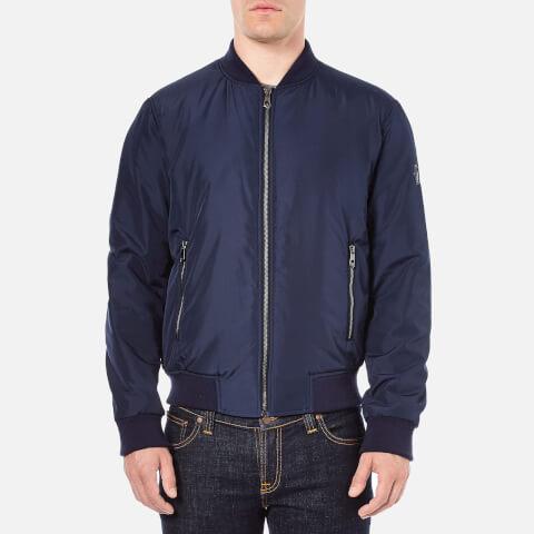 Versace Collection Men's Bomber Jacket - Blue