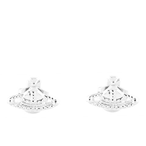 Vivienne Westwood Jewellery Women's Farah Earrings - Rhodium
