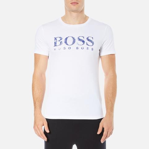 BOSS Orange Men's Tommi 3 Large Logo T-Shirt - White