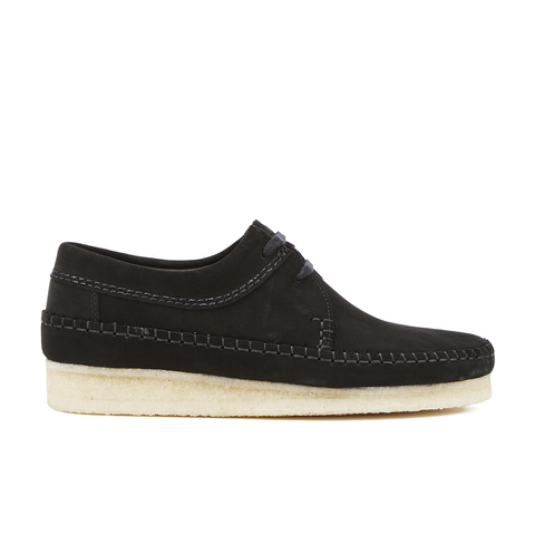 Clarks Originals Men's Weaver Shoes - Black Suede