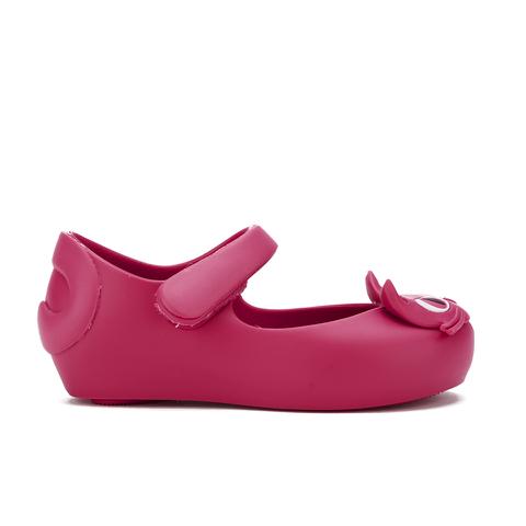 Mini Melissa Toddlers' Ultragirl Kitty 16 Ballet Flats - Bright Pink