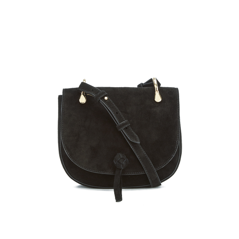 Elizabeth and James Women's Zoe Saddle Bag - Black