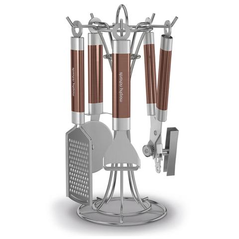 Morphy Richards 975075 4 Piece Gadget Set - Metallic/Copper