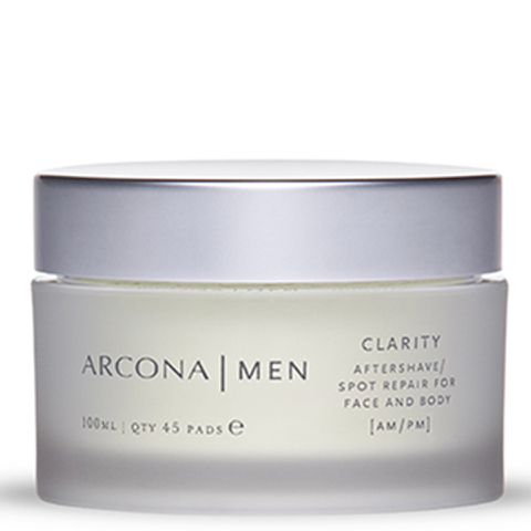 ARCONA MEN Clarity Aftershave Pads 45ct