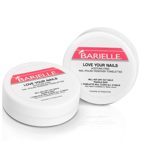 Barielle Love Your Nails Acetone Free Nail Polish Remover Towelettes