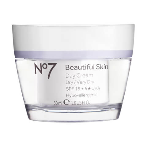 Boots No.7 Beautiful Skin Day Cream SPF 15 - Dry to Very Dry