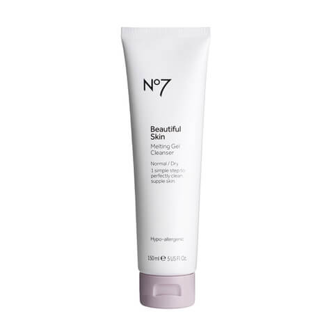 Boots No.7 Beautiful Skin Melting Gel Cleanser - Normal to Dry