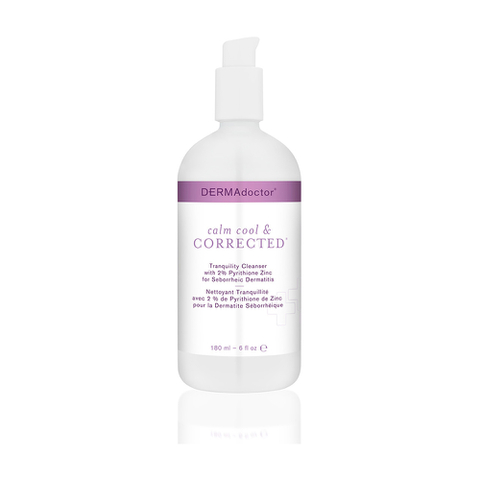 DERMAdoctor Calm Cool and Corrected Tranquility Cleanser with 2% Pyrithione Zinc