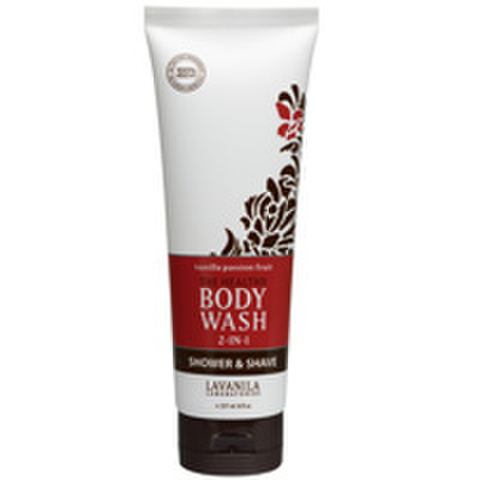 LaVanila The Healthy Body Wash Shower and Shave - Vanilla Passion Fruit