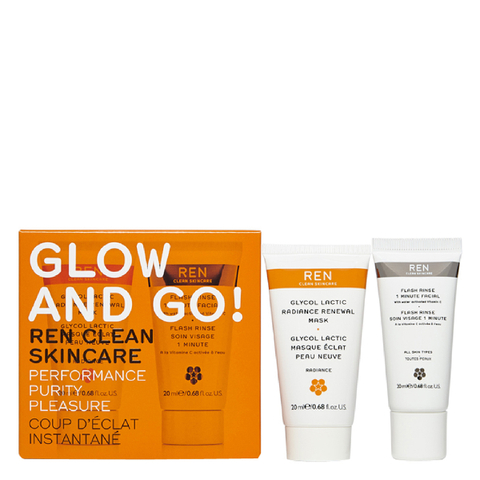 REN Glow and Go Set