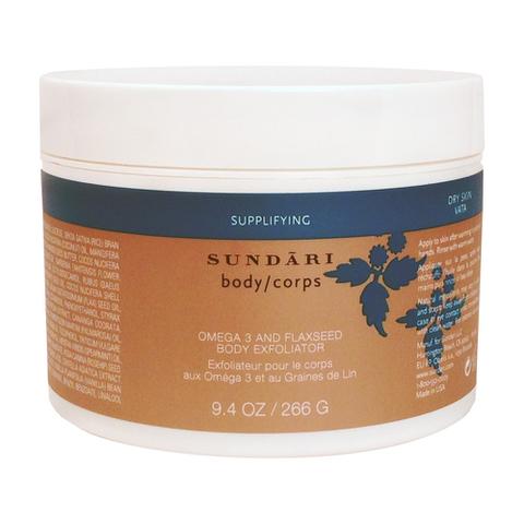 Sundari Omega 3 and Flaxseed Body Exfoliator