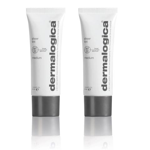 2x Dermalogica Sheer Tint SPF20 - Medium
