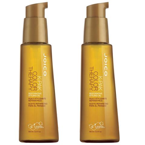2x Joico K-PAK Colour Therapy Oil