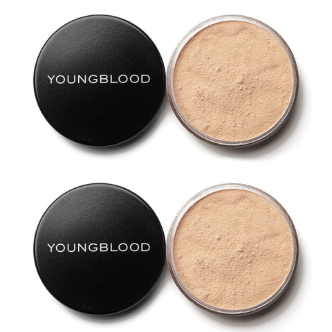 2x Young Blood Loose Mineral Foundation - Neutral