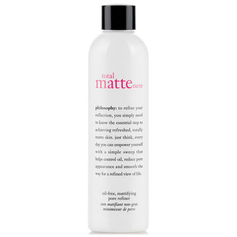 philosophy total matteness oil-free pore refiner 240ml