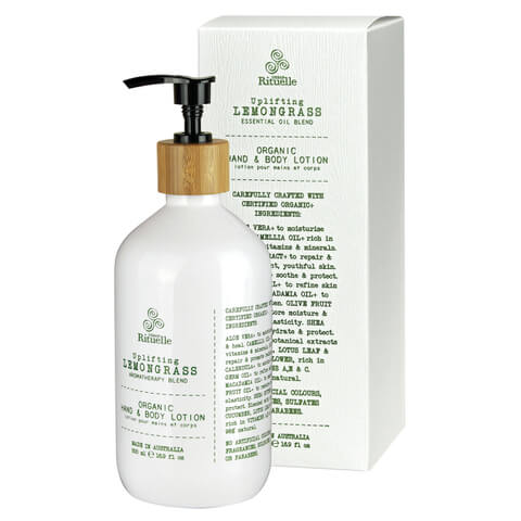 Urban Rituelle Organic Hand & Body Lotion- Lemongrass Blend