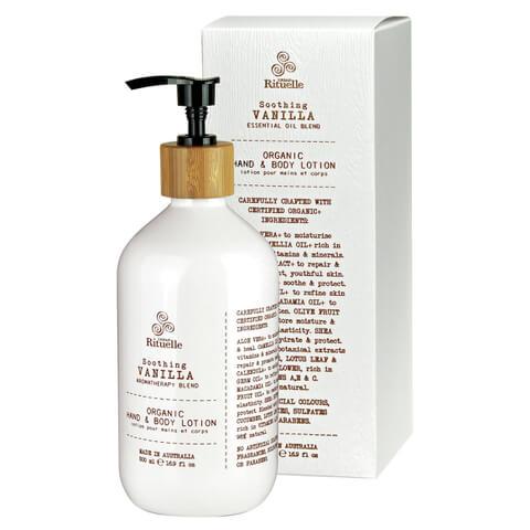 Urban Rituelle Organic Hand and Body Lotion - Vanilla Blend