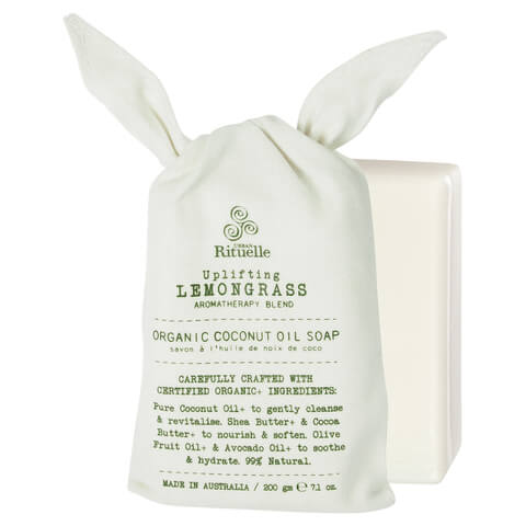 Urban Rituelle Organic Coconut Oil Soap - Lemongrass blend