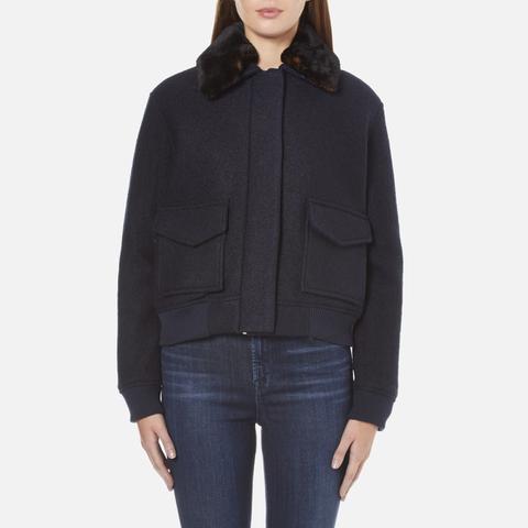Samsoe & Samsoe Women's Louche Jacket - Dark Sapphire