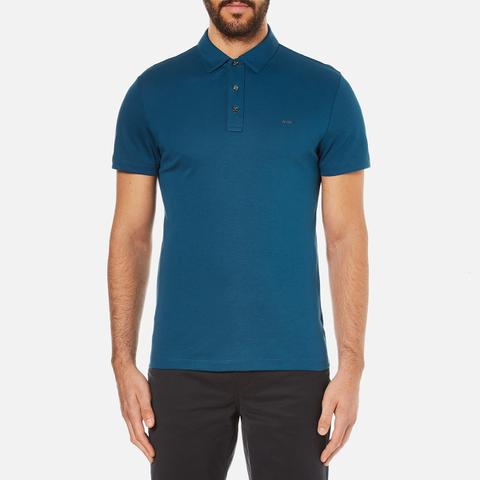 Michael Kors Men's Sleek MK Polo Shirt - Pacific Blue
