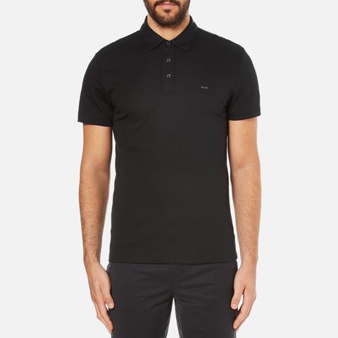 Michael Kors Men's Sleek MK Polo Shirt - Black