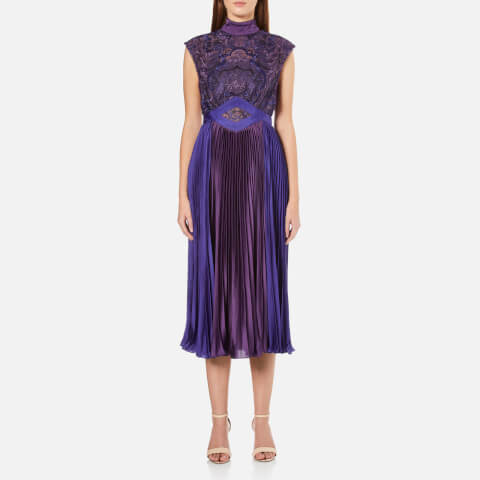 Three Floor Women's Bronte Dress - Plum/Ink Blue