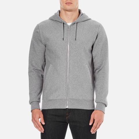 PS by Paul Smith Men's Hooded Zip Through Hoody - Grey