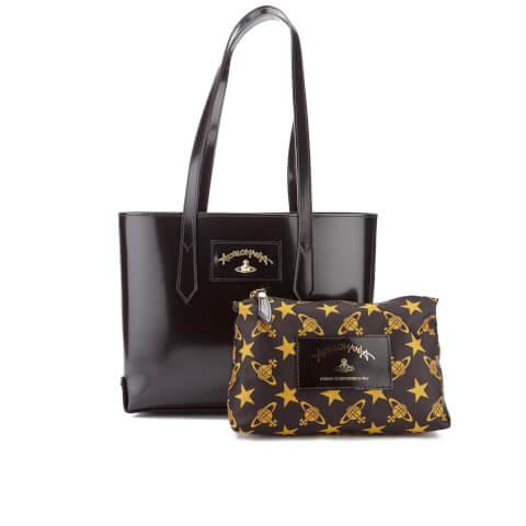 Vivienne Westwood Women's Newcastle Small Stud Tote Bag - Black