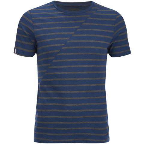 Produkt Men's Deko Asymetric Stripe T-Shirt - Dress Blue