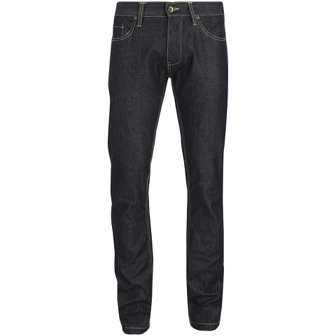 Brave Soul Men's Denton Slim Fit Jeans - Dark Indigo Wash