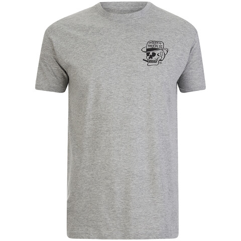 Rum Knuckles Men's Classic Logo T-Shirt - Grey
