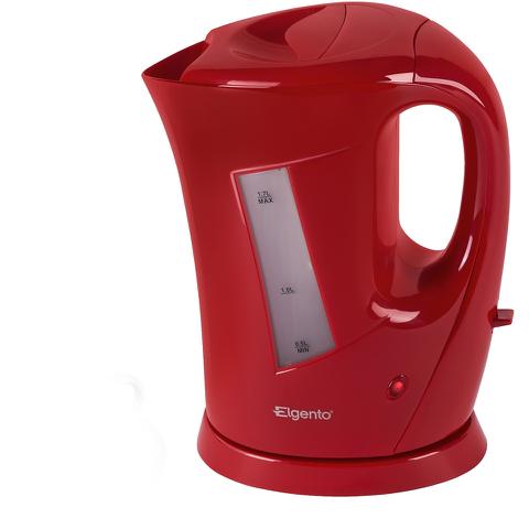 Elgento E10012R 1.7L Jug Kettle - Red