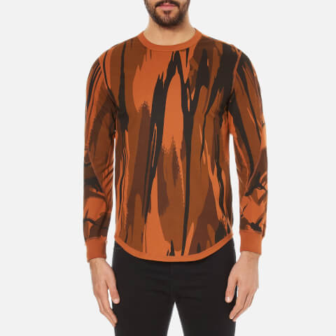 Maharishi Men's Reversible Camo Long Sleeve Top - Autumn Camouflage