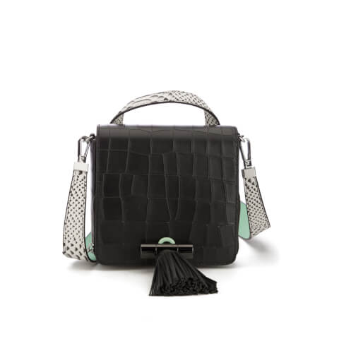 KENZO Women's Runway Small Top Handle Bag - Black
