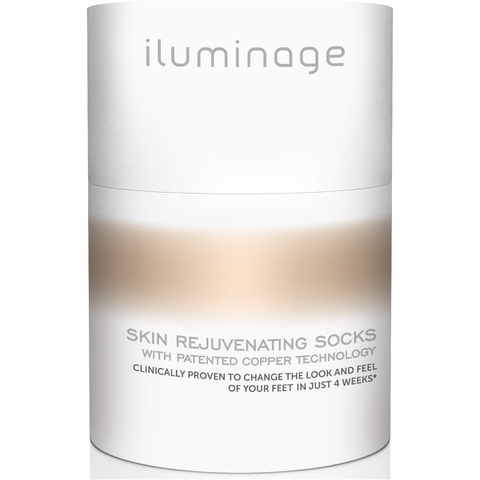 Iluminage Skin Rejuvenating Socks S/M