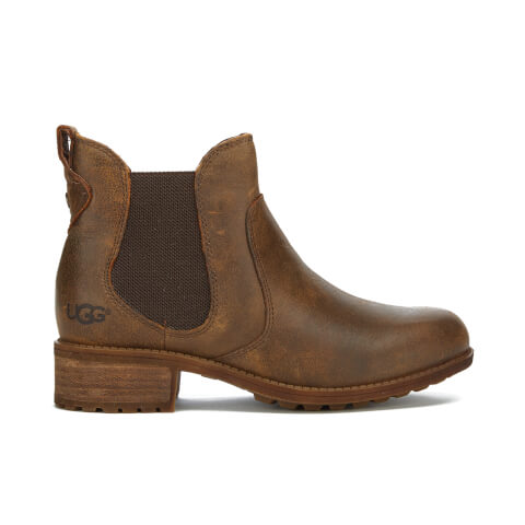 UGG Women's Bonham Leather Chelsea Boots - Stout