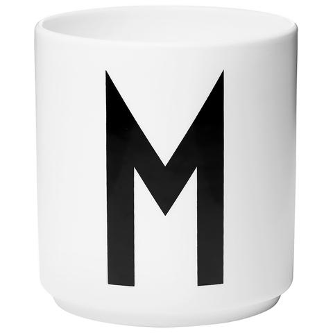 Design Letters Porcelain Cup - M