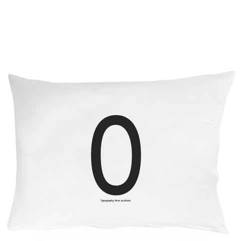 Design Letters Pillowcase - 70x50 cm - O