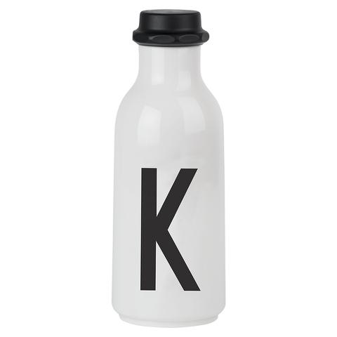 Design Letters Water Bottle - K