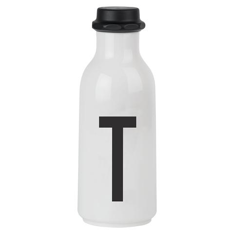 Design Letters Water Bottle - T