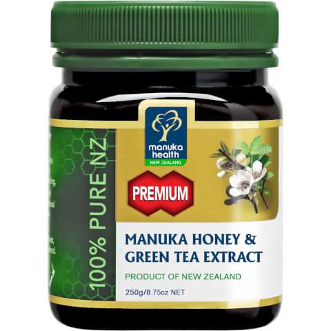 MGO 250+ Manuka Honey Plus Green Tea Extract