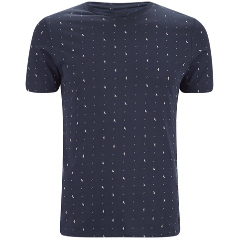 Produkt Men's Minimal Print T-Shirt - Dress Blue